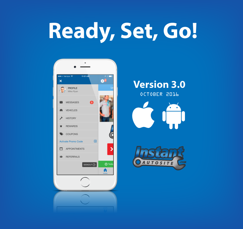 Version 3.0 Mobile App